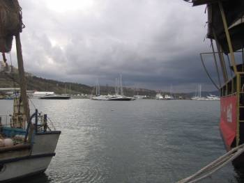 Рибарският пристан в Созопол