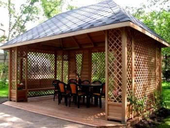 Декоративни дървени конструкций