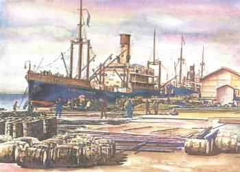 Пристанището в Бургас