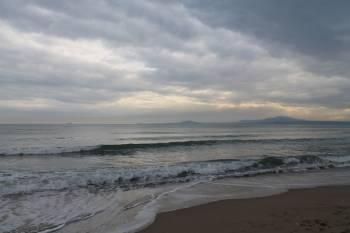 морето в началото на новата година