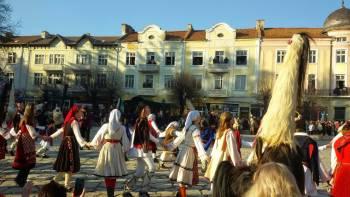 Кукерски карнавал гр. Разлог 2015
